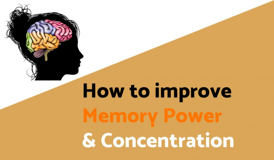 How to improve memory power and concentration