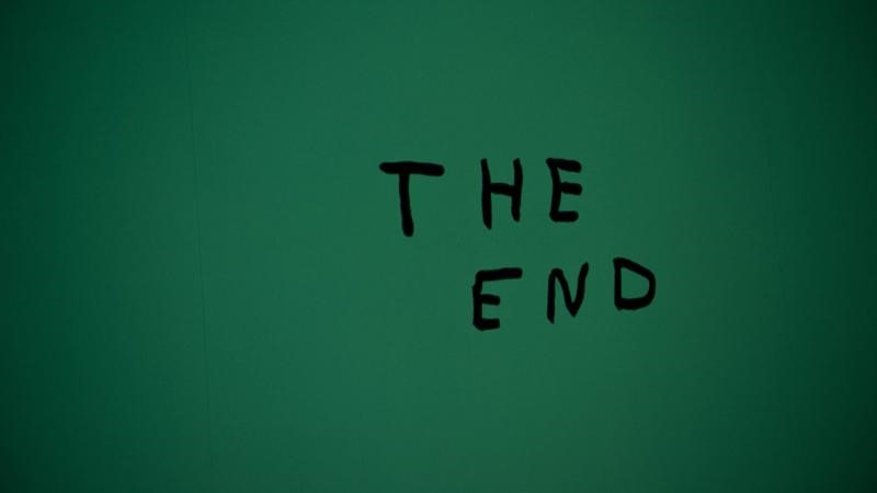 the end blogging